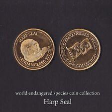 WORLD ENDANGERED SPECIES NBS COLLECTIBLE COIN - SPECIAL EDITION - HARP SEAL COIN