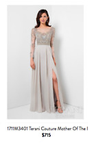 Terani Couture Evening Dress 1711M3401 Gown, Bridesmaids, Mother of the Bride