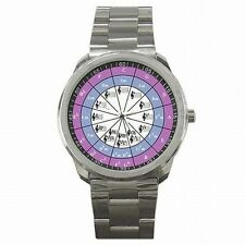 Circle of Fifths Musician Chromatic Music Scale Stainless Steel Sport Watch New!