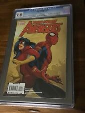 NEW AVENGERS #59 CGC 9.8 MARVEL 1/10 SPIDERMAN ON FRONT COVER OF COMIC