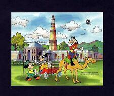ST VINCENT GR - 1989 - DISNEY - MICKEY - INDIA - MINNIE - QUTAB MINAR - MNH S/S!
