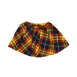 XS Girlish 1960s Skirt Size 0 Purple Plaid Skirt Cute School Girl Style Box Pleats Waist 23-41714 60s Wool Pleated Skirt