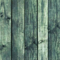 Green Peel and Stick Wood Wallpaper Self Adhesive Contact Paper Removable 5m