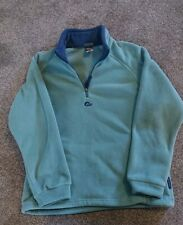 Womens Alpine Lowe Thick Half Zip Fleece Polartec Size 12