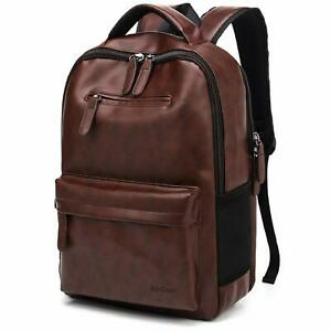 AirCase C34 25 Ltrs Laptop Backpack, 15.6 Inch Laptop Bag for Men & Women- Brown