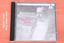 """Beethoven - Symphonie n° 9 """"Ode à la joie» - Harnoncourt - CD Teldec"""