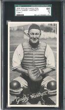 """1936 R314 Goudey Wide Pen """"Gabby Hartnett"""" Type 1 with """"Litho in U.S.A"""" SSP!"""