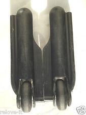 Valise roue de remplacement paire de rechange utilisés L&R debout chariot gratuit uk post BK1