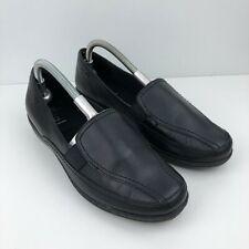 BNWT Marks /& Spencer école garçons Noir Chaussures en cuir Chaussures Taille Eu 37 UK 4