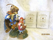Greenwich Workshop Collection Scott Gustafson Little Red Riding Hood & the Wolf