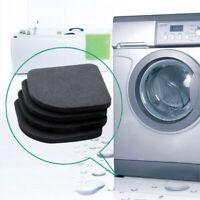 4pcs Washing Machine Anti Vibration Pad Shock Proof Non Slip Feet Mats for Floor