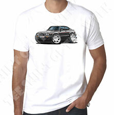 Modified Ford Capri MK3 2.8i T-shirt Classique Voiture Old Skool Rétro.