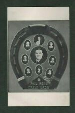 Vintage Postcard, Phil Rees' Stable Lads - Horse Racing