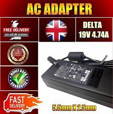 90W Delta Toshiba Equium L300D-EZ1001V 19V 4.74A Adapter Power Supply Battery
