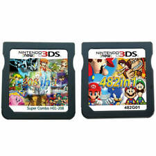 NEW 208/482 in 1 Video Games Cartridge Cards For Nintendo NDS 2DS 3DS NDSI NDSL