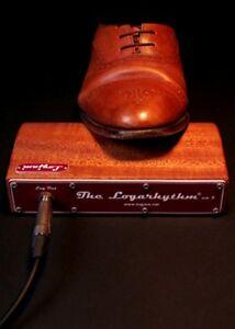Stompbox Logjam Logarhythm MK4 Kickbox Rhythmus-Fußbox Fuß-Drum-Box Klick-Box