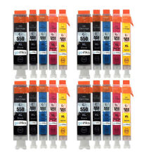 Go Inks Cartridges (Set of 5) for Canon PGI-550 & CLI-551