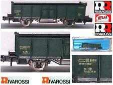RIVAROSSI ATLAS 2460 CARRO MERCI GONDOLA TRASPORTO MINERALI SNCB USA BOX SCALA-N