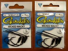 GAMAKATSU Wicked Wacky Fishing Hook Inventory Assortment