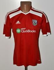WEST BROMWICH ALBION 2014/2015 AWAY FOOTBALL SHIRT JERSEY ADIDAS SIZE S ADULT