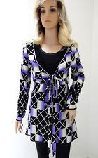 MARCCAIN pull femmes N5 40 42 L XL LAINE SOIE Cachemire pull en tricot
