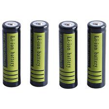 USA 2PCS 3.7 V 18650 4200mAh Rechargeable Li-ion Battery for Flashlight Torch