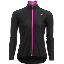 GIORDANA Fusion MIDWEIGHT Stretch FULL ZIP Bike CYCLING JERSEY Womens size SMALL