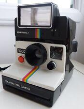 Cámara instantánea Polaroid 1000 Tierra & Unidad De Flash Polatronic