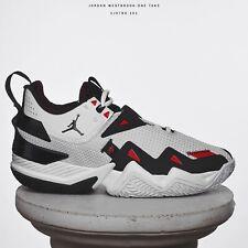 Jordan westbrook one take caballero zapatillas de baloncesto blanco negro rojo cj0780-101