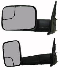 Sideview Door Mirror Tow Pkg - Driver Side - Fits Dodge Ram 1500 2500 3500