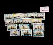 Falkland Islands 1978-82  date imprint ships SG331B-345B MNH mint set stamps