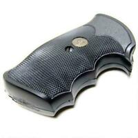 Pachmayr 02528 Gripper Grip Colt Python/Trooper Black Rubber
