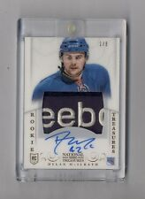 DYLAN MCILRATH 2013-14 NATIONAL TREASURES AUTO LOGO PATCH RC #1/5 RANGERS