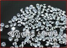 1 000 piedras efecto diamantes 8mm efecto cristal y plata decoración mesa Boda