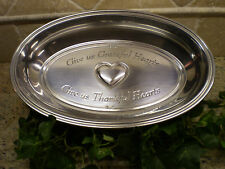 Reed & Barton, Pewter - Armetale Bread - Serving Bowl