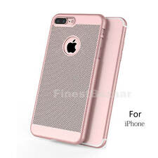 Luxury Ultra Thin Slim PC Mesh Hard Back Case Cover For Apple iPhone 6s 7/7 Plus