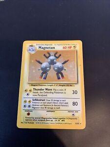 ⚡️Pokemon Card - Magneton - 9/102 Rare Holo - Light Play. ⚡️