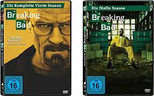 7 DVDs * BREAKING BAD - STAFFEL / SEASON  4 + 5 IM SET # NEU OVP <