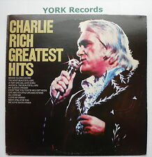 CHARLIE RICH - Greatest Hits - Excellent Condition LP Record Epic EPC 81478