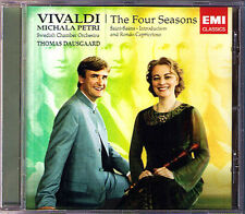 Michala PETRI VIVALDI The Four Seasons Die Vier Jahreszeiten CD Thomas Dausgaard