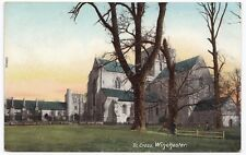 Winchester; St Cross Church PPC Unposted, c 1910's, From Wrench Series