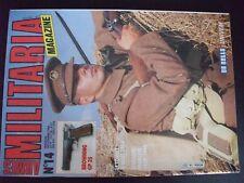 *** Revue Armes Militaria n°14 Tommy 1914 / écussons français / Browning GP 35