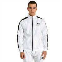 PUMA T7 PINSTRIPE TRACK TOP MENS WHITE - 579873-02