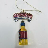 Christmas Ornament The Man-Cave Where it's Always Beer Thirty Beer Bottle