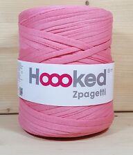 Hoooked `Zpagetti Pink Ton` Neu Stoffgarn Hooked, Häkeln, Stricken 850