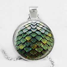 Dragon Egg Fantasy Myth & Magic Pendant Necklace - Inspired by Game of Thrones