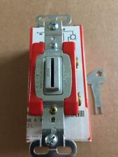 PASS & SEYMOUR Double Pole 20 Amp 120/277V Locking Switch 20AC2-L