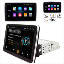10.1in Touch Screen Android 9.0 1DIN Car Stereo Radio RAM 2GB ROM 32GB GPS Wifi