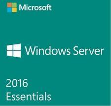 MICROSOFT WINDOWS SERVER 2016 Essential 64-bit licence