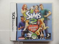 jeu LES SIMS 2 ANIMAUX & ET CIE pour nintendo DS en francais enfant game spiel